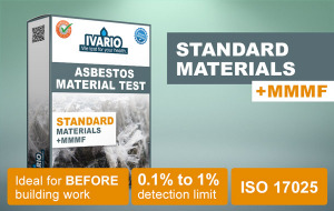 Asbestos Test for Standard Materials